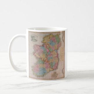 Vintage Map of Ireland (1835) Classic White Coffee Mug