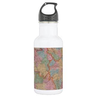 Vintage Map of Ireland (1835) 18oz Water Bottle
