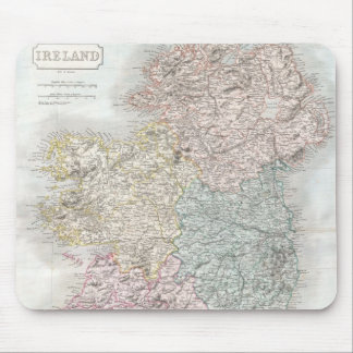 Vintage Map of Ireland (1850) Mouse Pad