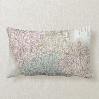 Vintage Map of Ireland (1850) Pillow