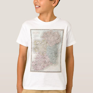 Vintage Map of Ireland (1850) T-Shirt