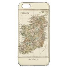 Vintage Map Of Ireland 1862 Iphone 5c Case at Zazzle