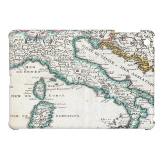 Vintage Map of Italy (1706) iPad Mini Cover