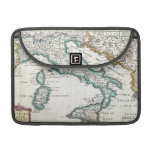 Vintage Map of Italy (1706) Sleeves For MacBook Pro