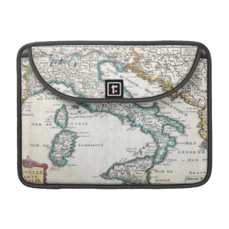 Vintage Map of Italy (1706) Sleeve For MacBook Pro