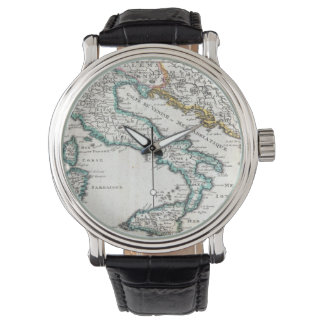 Vintage Map of Italy (1706) Wrist Watches