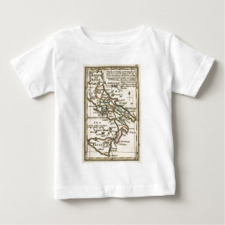 Vintage Map of Italy (1758) Baby T-Shirt