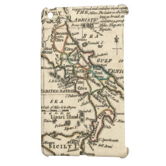 Vintage Map of Italy (1758) iPad Mini Cover