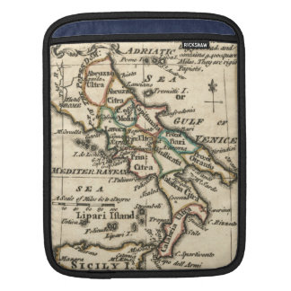 Vintage Map of Italy (1758) Sleeve For iPads