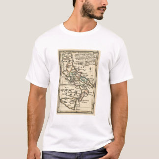 Vintage Map of Italy (1758) T-Shirt