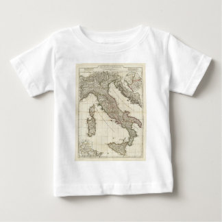 Vintage Map of Italy (1764) Baby T-Shirt