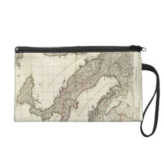 Vintage Map of Italy (1764) Wristlet