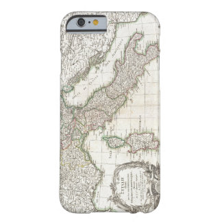 Vintage Map of Italy (1770) Barely There iPhone 6 Case
