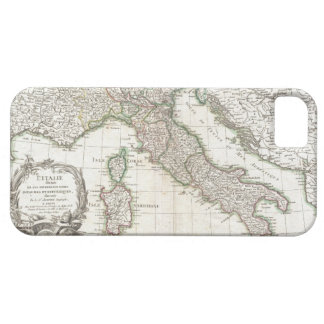 Vintage Map of Italy (1770) iPhone 5 Cases