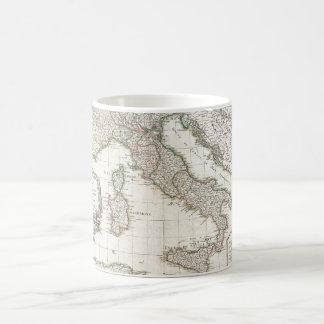 Vintage Map of Italy (1770) Coffee Mug