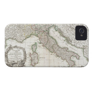 Vintage Map of Italy (1770) iPhone 4 Covers