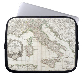 Vintage Map of Italy (1770) Computer Sleeve