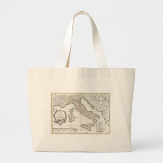 Vintage Map of Italy (1770) Large Tote Bag