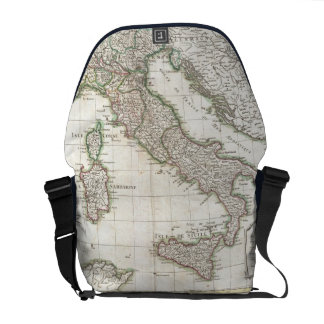 Vintage Map of Italy (1770) Messenger Bag