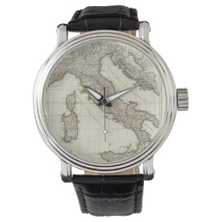 Vintage Map of Italy (1770) Watches