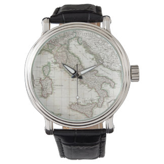 Vintage Map of Italy (1770) Wrist Watches