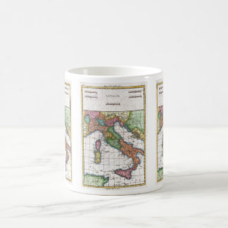 Vintage Map of Italy (1780) Classic White Coffee Mug
