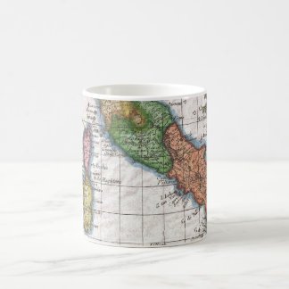 Vintage Map of Italy (1780) Coffee Mug