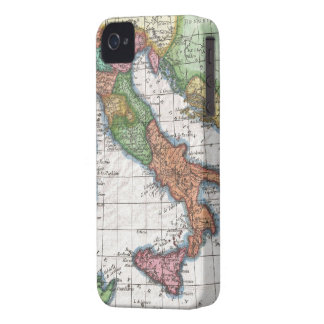 Vintage Map of Italy (1780) iPhone 4 Case-Mate Cases