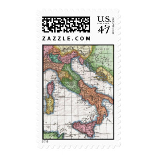 Vintage Map of Italy (1780) Postage