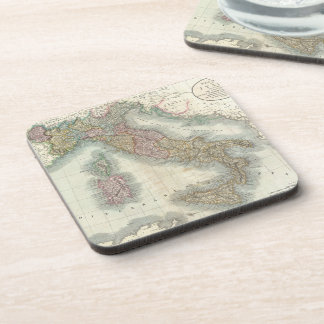 Vintage Map of Italy (1799) Coaster
