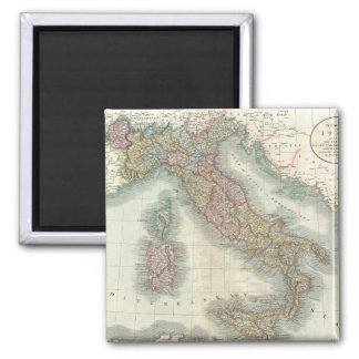 Vintage Map of Italy (1799) Magnet