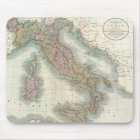 Vintage Map of Italy (1799) Mouse Pad