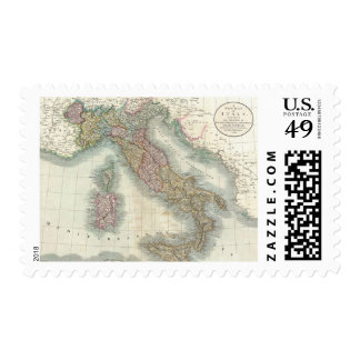 Vintage Map of Italy (1799) Postage