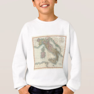 Vintage Map of Italy (1799) Sweatshirt