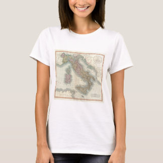 Vintage Map of Italy (1799) T-Shirt