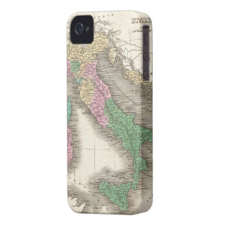 Vintage Map of Italy (1827) Case-Mate iPhone 4 Cases