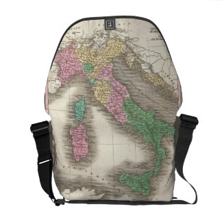 Vintage Map of Italy (1827) Courier Bags