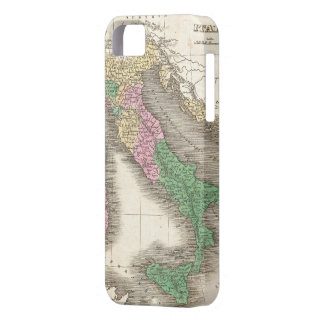 Vintage Map of Italy (1827) iPhone SE/5/5s Case