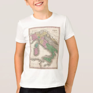 Vintage Map of Italy (1827) T-Shirt