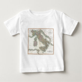 Vintage Map of Italy Baby T-Shirt