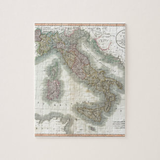 Vintage Map of Italy Puzzle