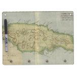 Vintage Map of Jamaica (1780) Dry-Erase Whiteboard
