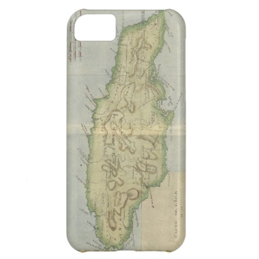 Vintage Map of Jamaica (1780) iPhone 5C Cover