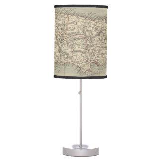 Vintage Map of Jamaica (1851) Desk Lamp