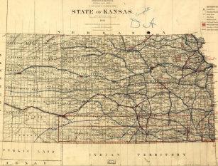 Old Kansas Map.Old Kansas Map Gifts On Zazzle