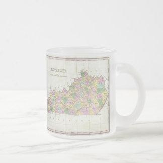 Vintage Map of Kentucky (1827) Mugs
