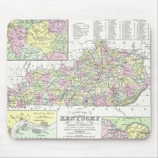 Vintage Map of Kentucky (1850) Mouse Pad