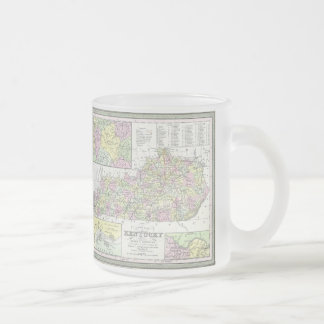 Vintage Map of Kentucky (1850) Coffee Mug