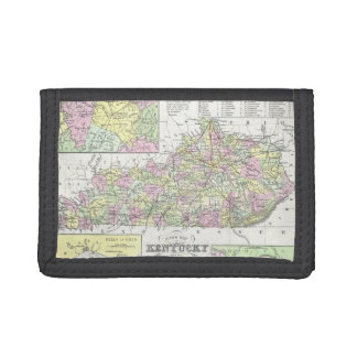 Vintage Map of Kentucky (1850) Wallets