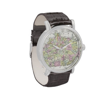 Vintage Map of Kentucky (1850) Watches